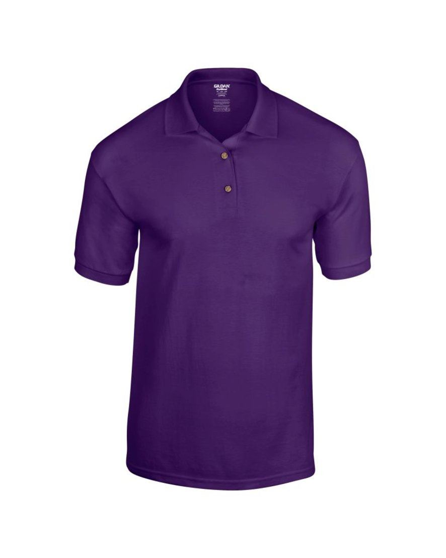 Mens polo shirt polyester cotton work office wear for Men s polyester polo shirts