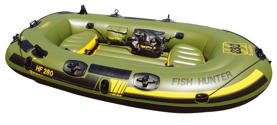 Sevylor fish hunter 280 3 persons inflatable fishing for Fish hunter raft