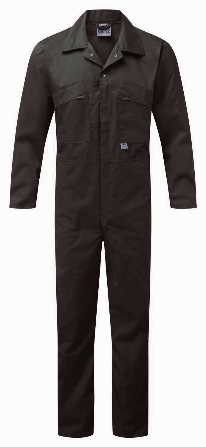 NEW-HEAVIER-DUTY-240GSM-ZIP-FRONT-Cotton-COVERALLS-SUIT-Overall-Work-Outdoor