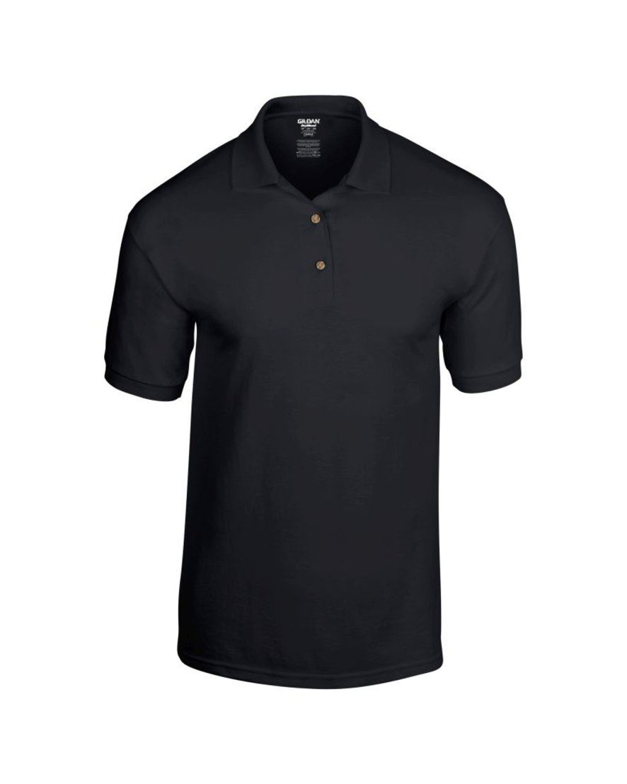 Mens polo shirt polyester cotton work office wear for Mens cotton polo shirts