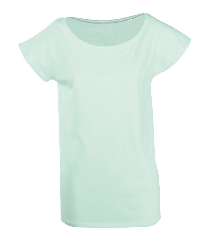 Ladies Summer Spring Style Long T Shirt Wide Neck More