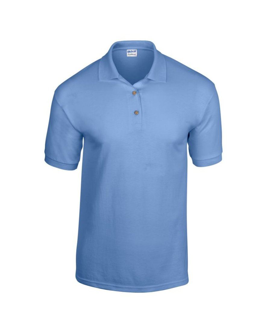 Mens Polo Shirt Polyester Cotton Work Office Wear