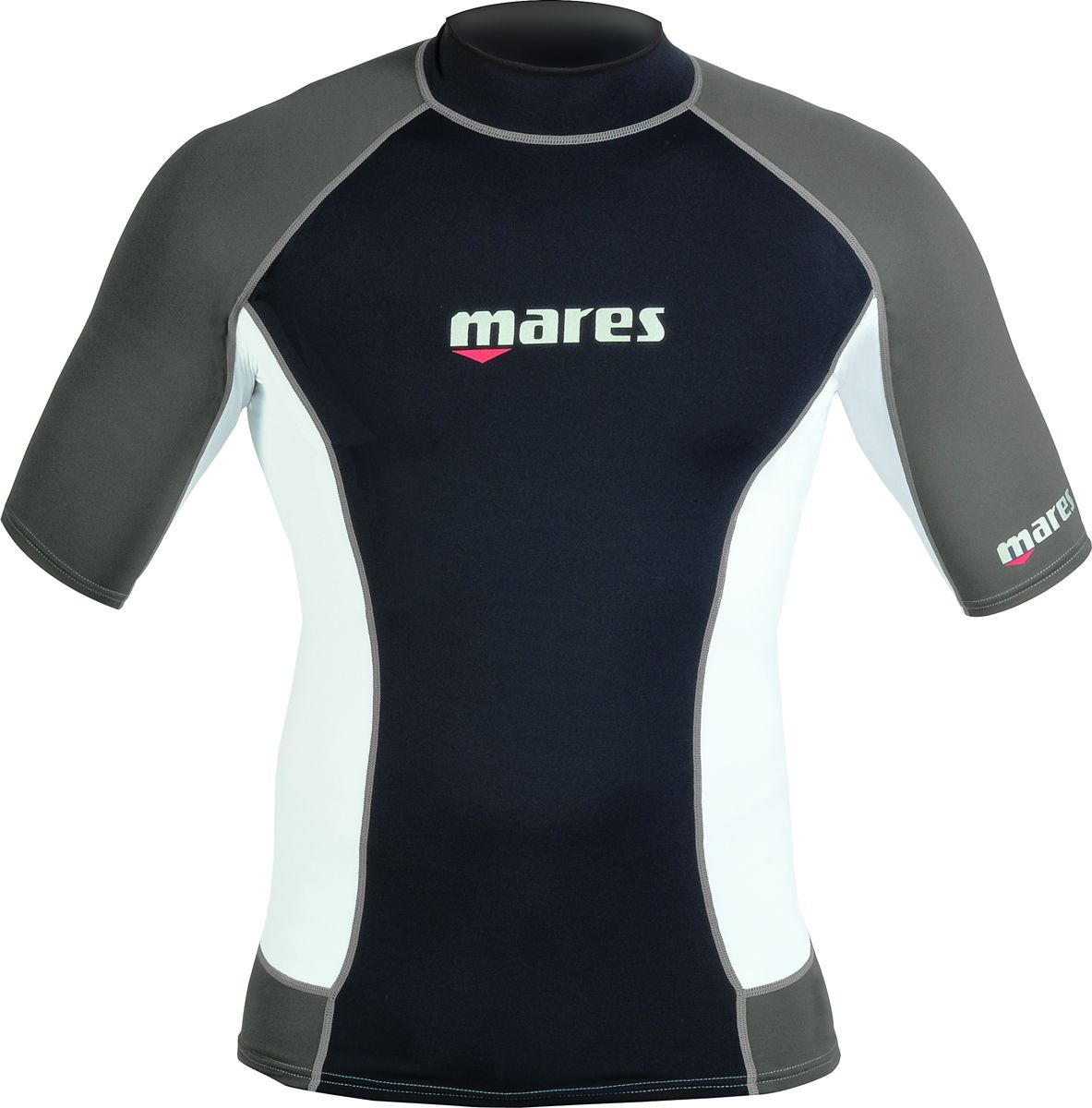 MARES-Mens-Trilastic-Lycra-RASH-VEST-Short-Sleeves-Dive-Snorkel-Swim-Surf