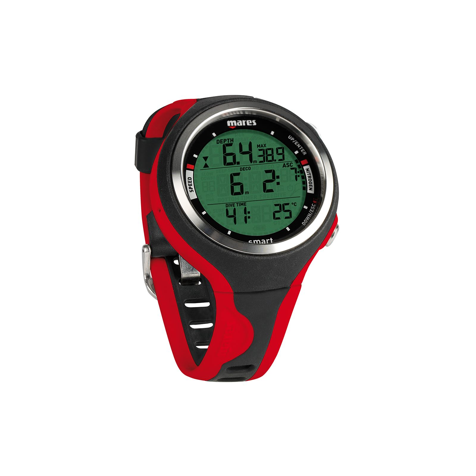 Mares smart scuba dive watch style computer multi gas free - Mares dive watch ...