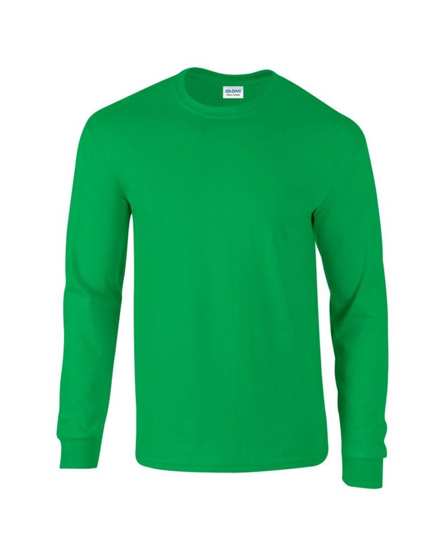 Mens long sleeve t shirt quality thick material loads for Good quality long sleeve t shirts
