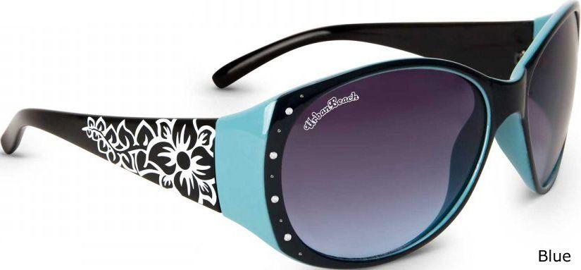 Urban-Beach-Flower-Ladies-Summer-Sunglasses-UV400-With-FREE-Case
