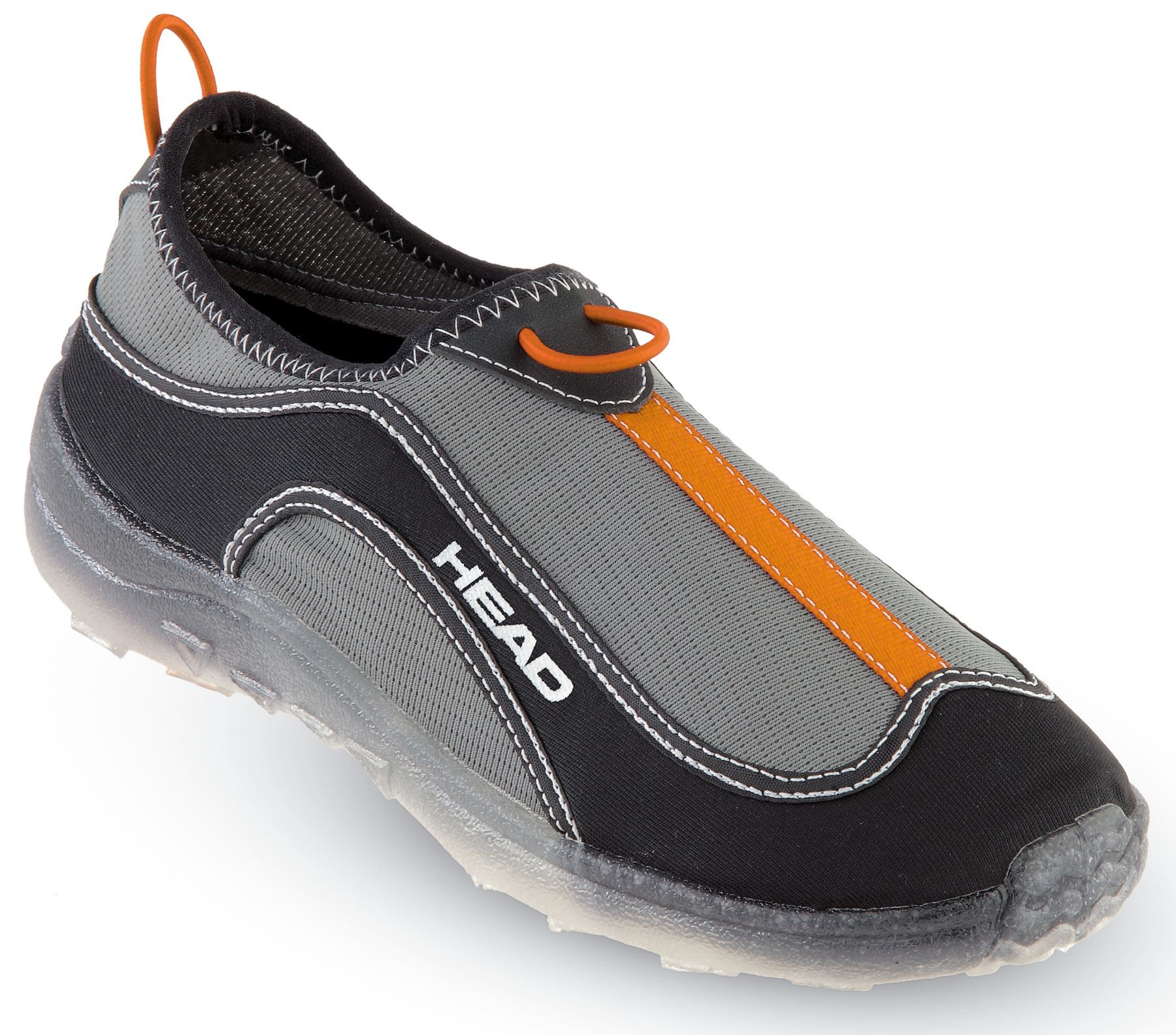 HEAD-Deluxe-Fast-Drain-Aqua-Trainer-Beach-Shoes-Black-Orange-Mens-Ladies