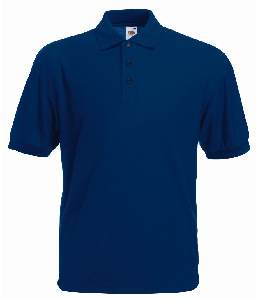 Mens poly cotton polo shirt with reinforced shoulders for Cotton polo shirts for men