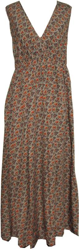 New-Ladies-Aztec-Anmol-Kushi-Summer-Holiday-Maxi-Boho-Dress-Size-10-20
