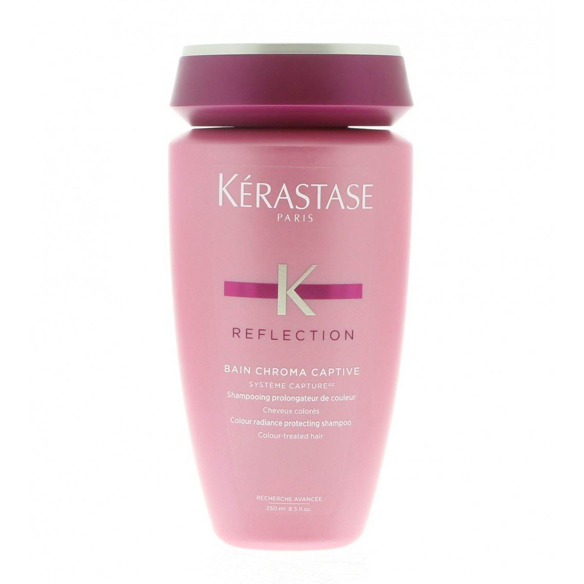 Kerastase reflection bain chroma captive shampoo 250 ml for Kerastase reflection bain miroir 1 shine revealing shampoo