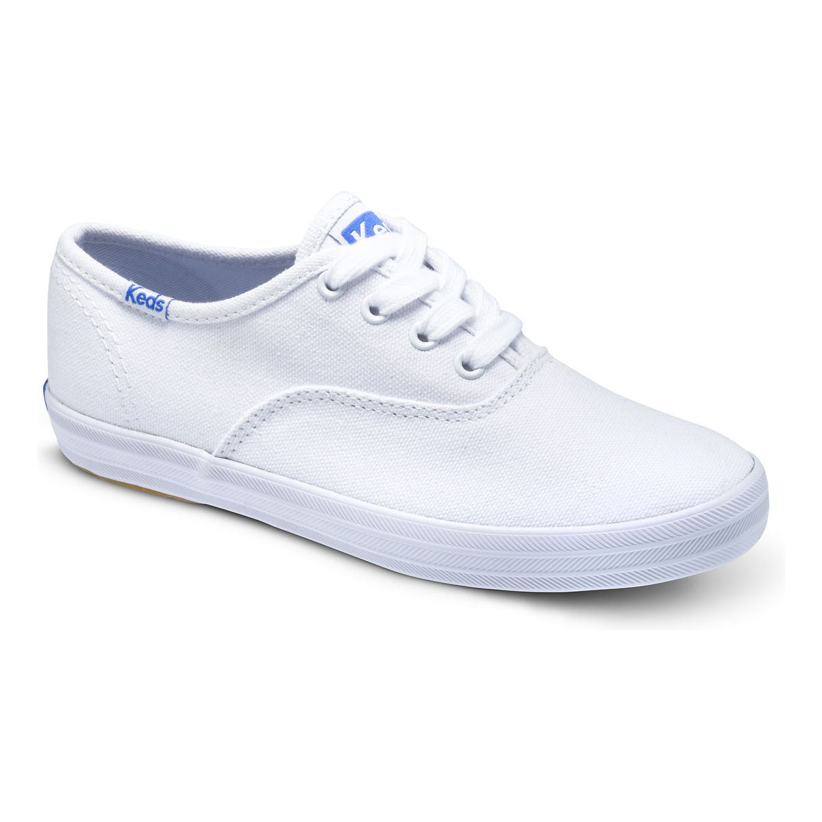 girls keds white canvas