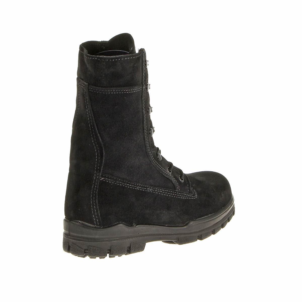 bates womens 9 quot us navy suede durashocks steel toe boot ebay