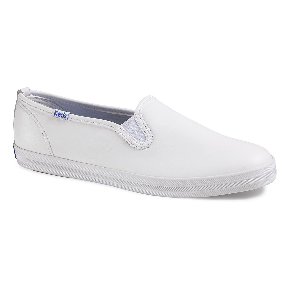 keds womens chion slip on leather ebay