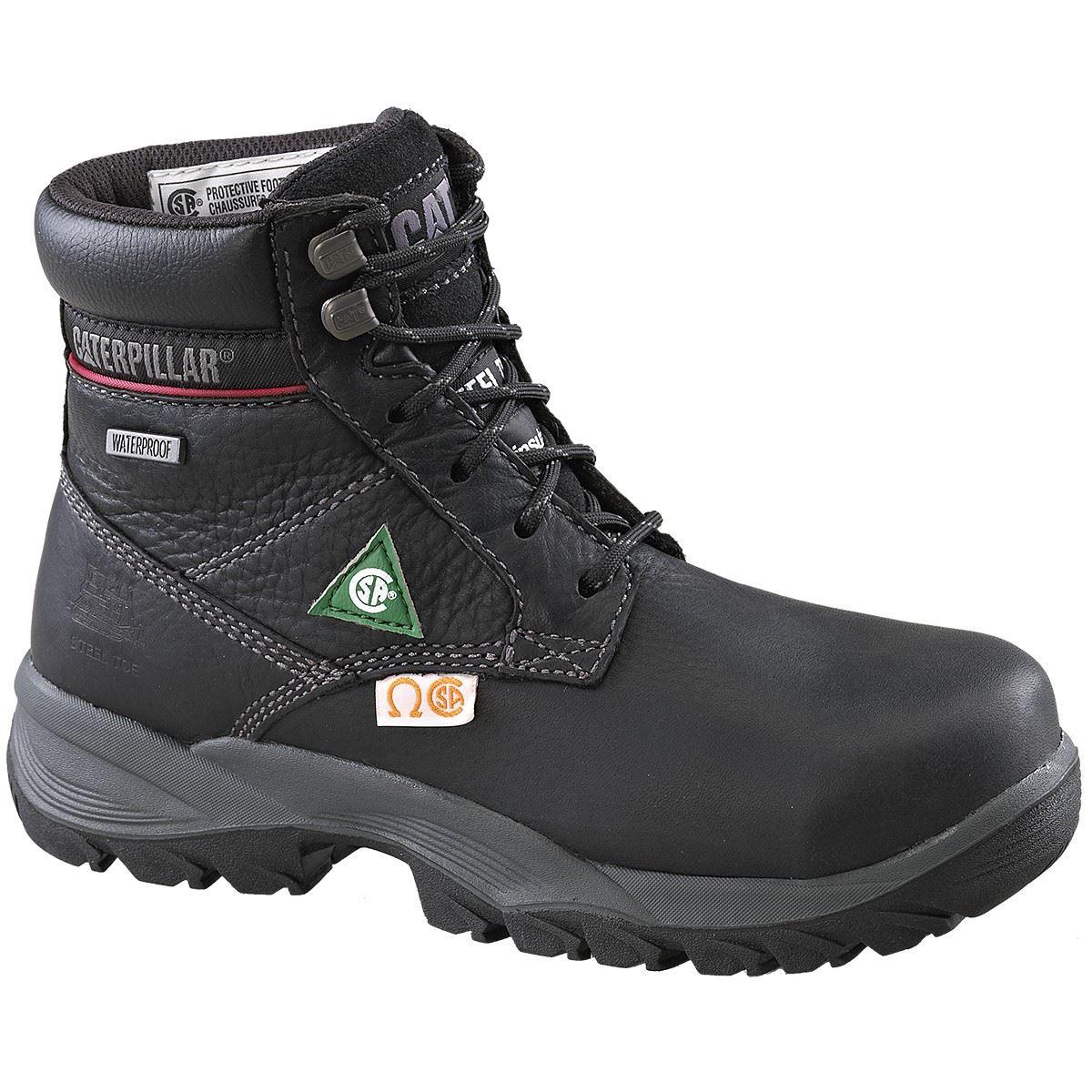 Original Women39s Rocky Barnstormer 9 Inch Waterproof Pullon Work Boots Dark