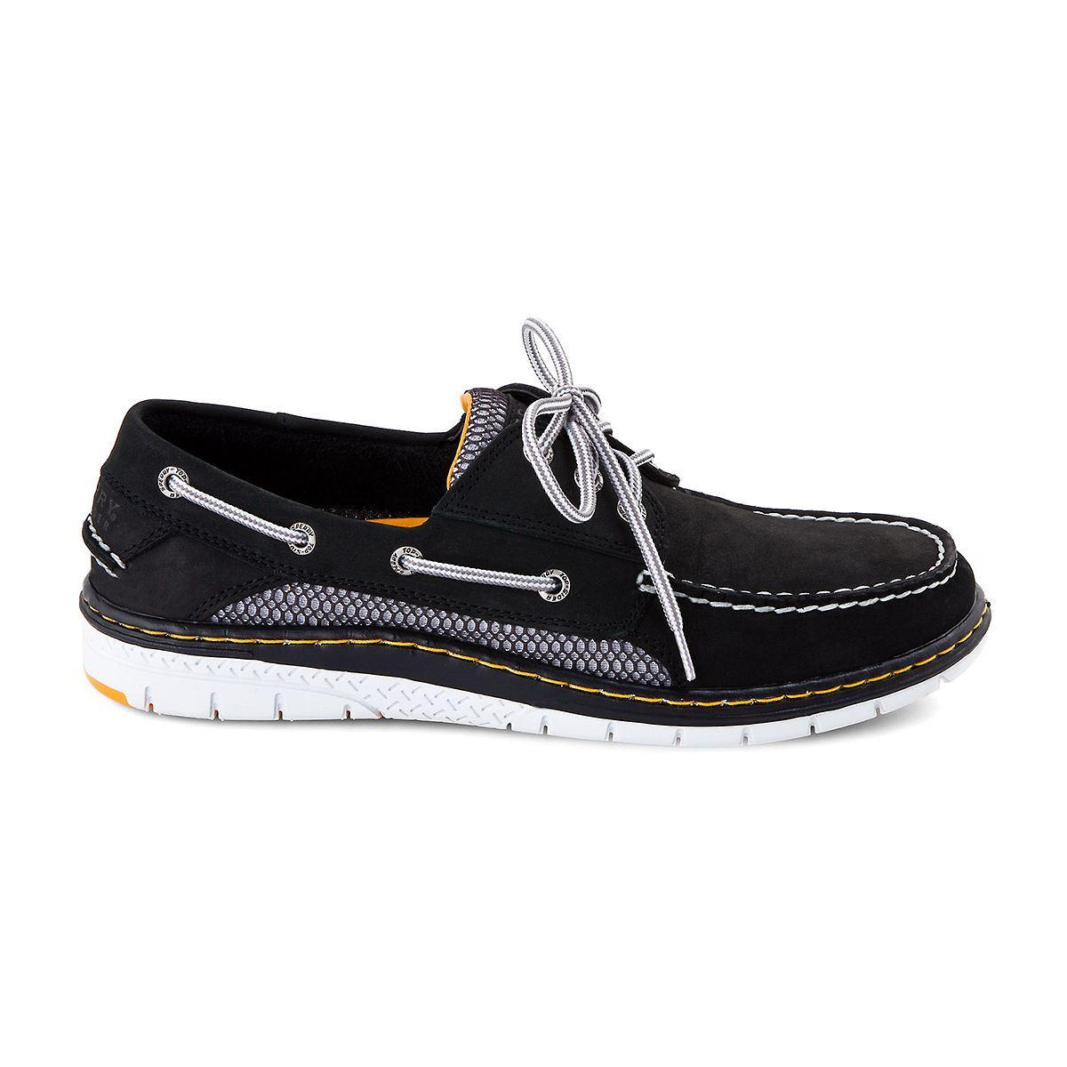 Billfish  Eye Boat Shoe Black