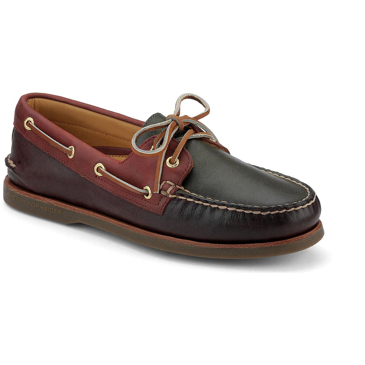 Gold Cup Authentic Original Cross Lace Boat Shoe
