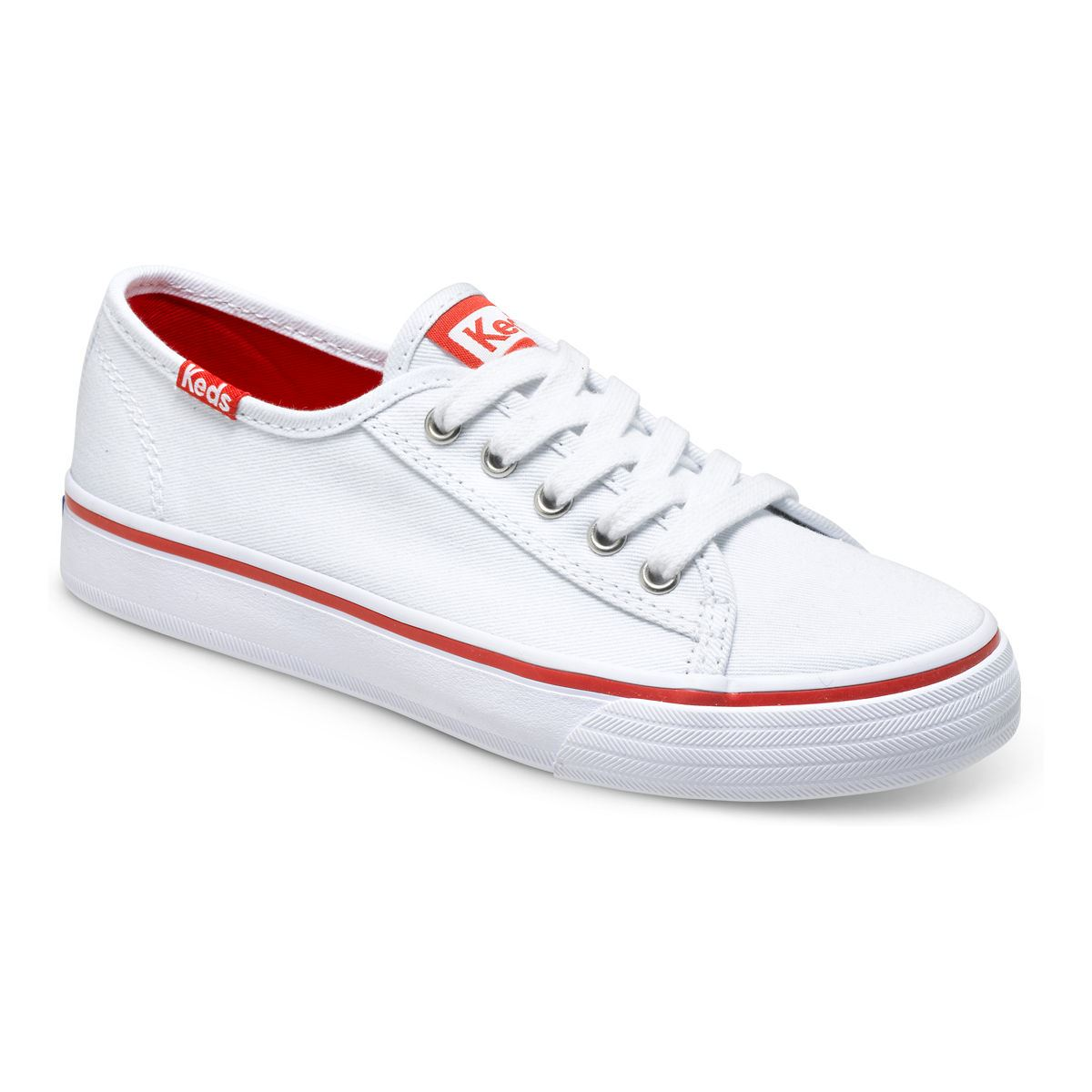 keds double up sneakers white