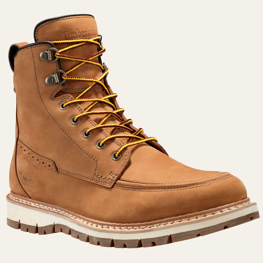 timberland men 39 s britton hill moc toe waterproof boots ebay. Black Bedroom Furniture Sets. Home Design Ideas