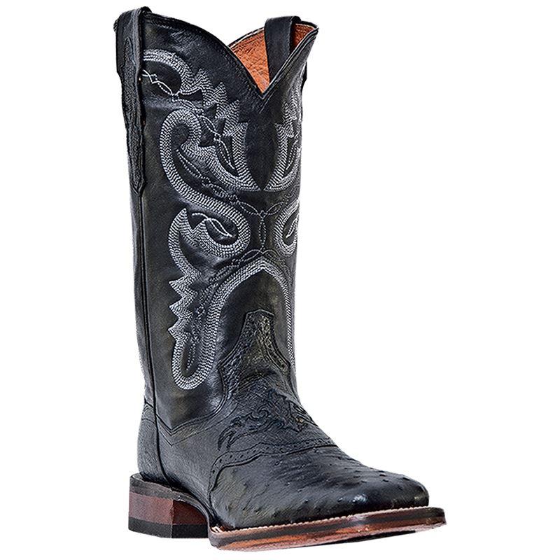 Luxury Dan Post Western Boot Womens 11quot Dallas Star Leather 10 M Black DP3634