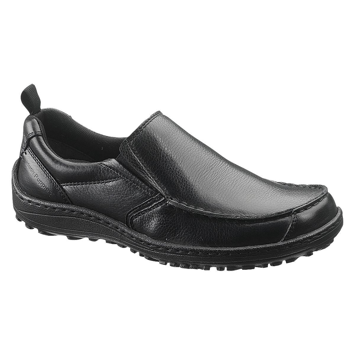 hush puppies mens belfast slip on mocc toe plymouth
