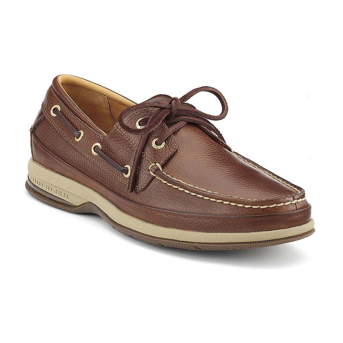 Sperry Top-Sider Gold Cup Perforated Leather Boat Shoes in ... |Sperry Gold