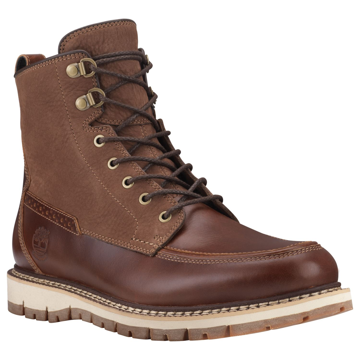 timberland mens britton hill waterproof moc toe boot ebay. Black Bedroom Furniture Sets. Home Design Ideas