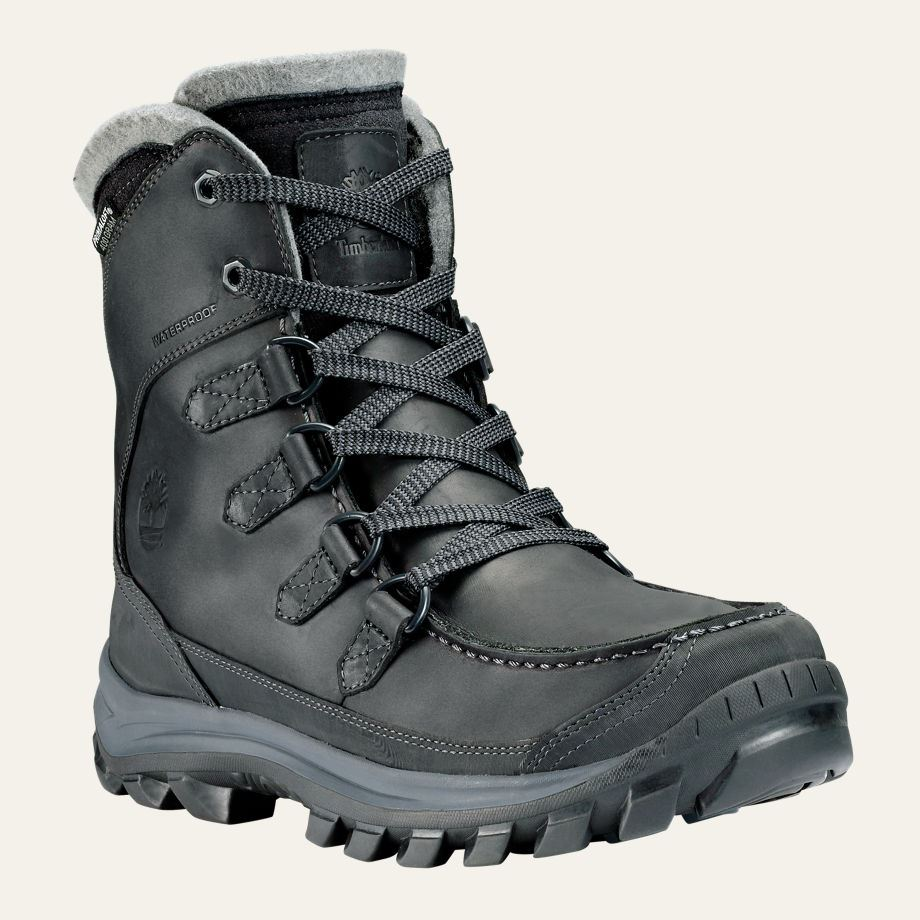 timberland men 39 s chillberg tall insulated winter boots. Black Bedroom Furniture Sets. Home Design Ideas