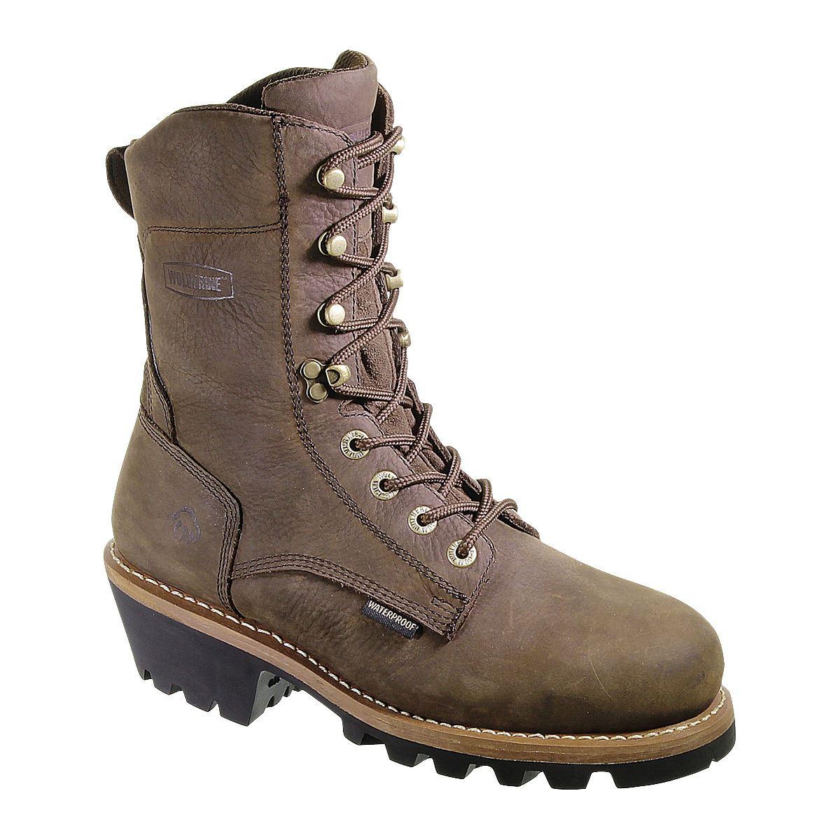 wolverine mens nantucket insulated waterproof 8 quot work boot