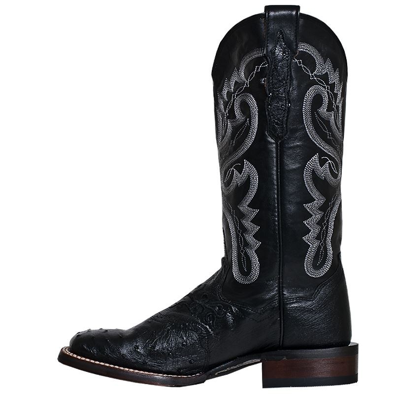 Luxury WOMENS DAN POST BLACK SOFT LEATHER COWBOY WESTERN BOOTS 6512 M