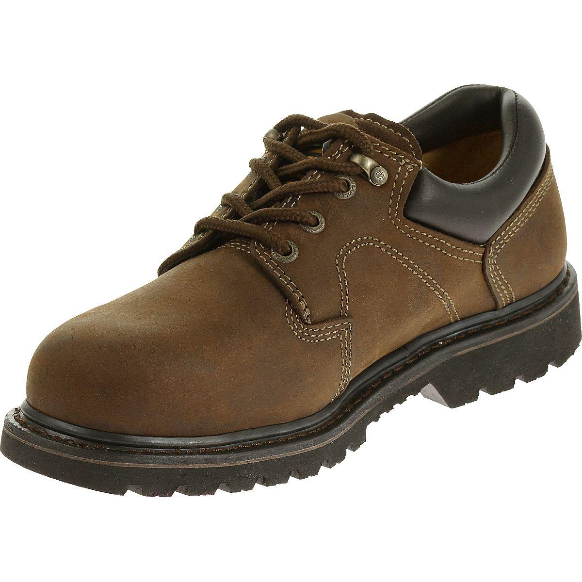 CAT Footwear Mens Ridgemont Steel Toe Work Shoe | EBay