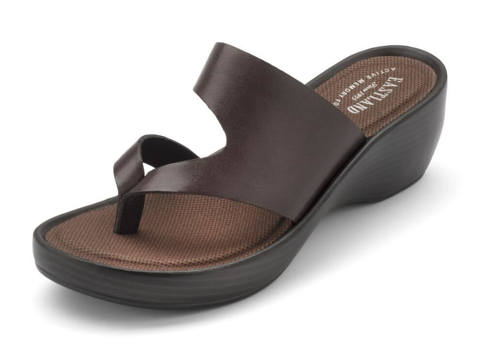 Eastland Womens Laurel Wedge Thong Sandal 3859 Ebay