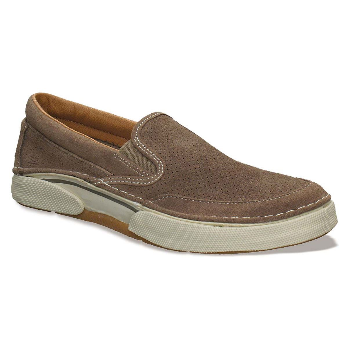 sperry mens largo slip on shoe taupe 0456761 ebay