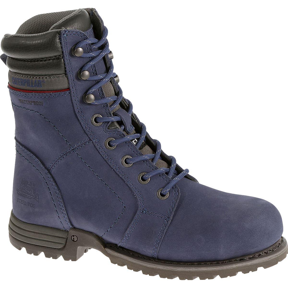 cat footwear womens echo waterproof steel toe work boot ebay