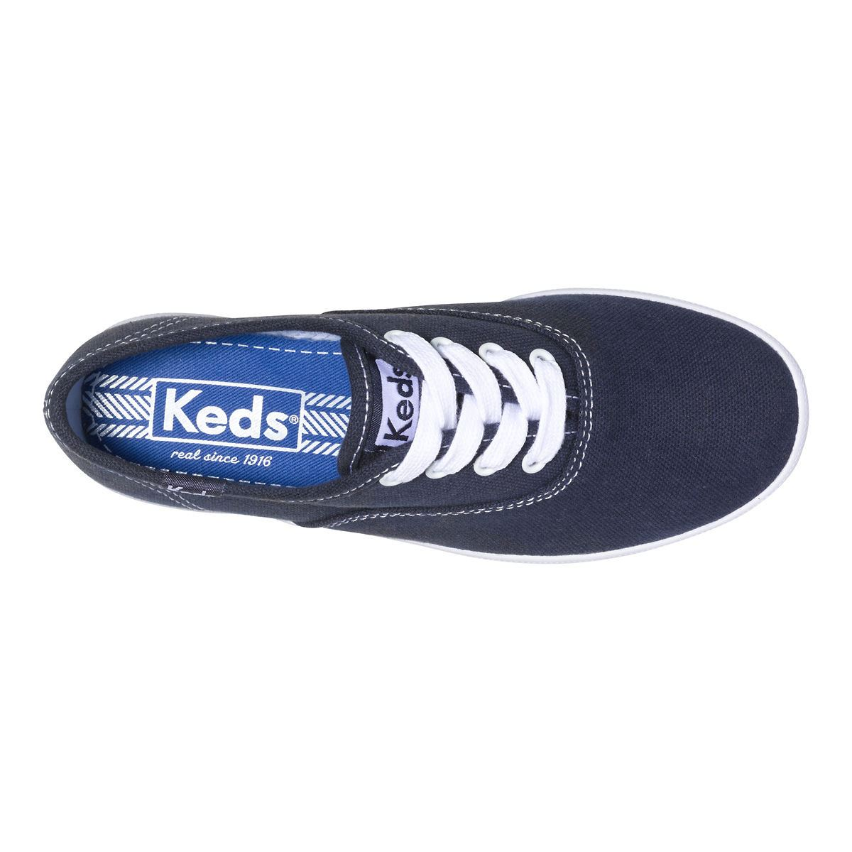 girls size 5 navy tennis shoes keds