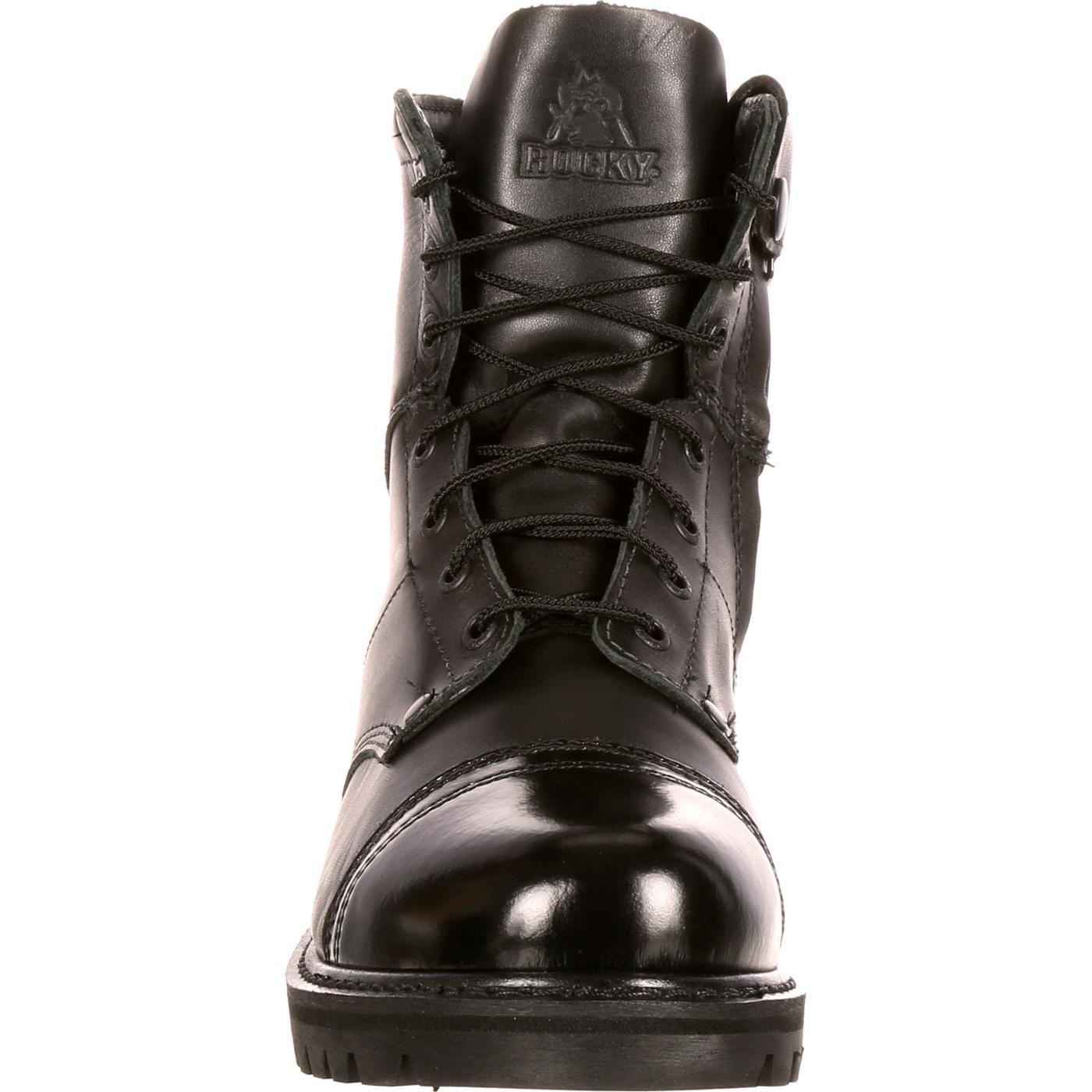 Rocky Men S Side Zipper Jump Boot Ebay