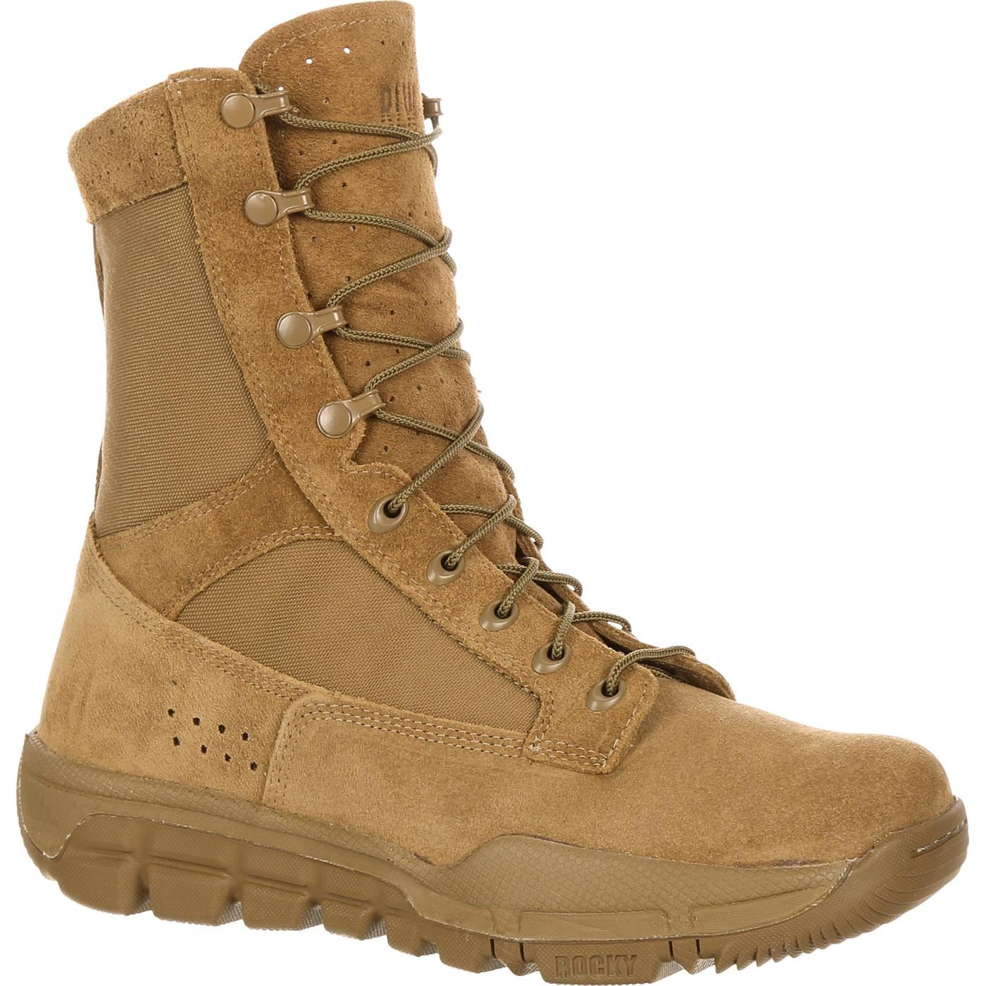 Rocky Men S Lightweight Commercial Military Boot