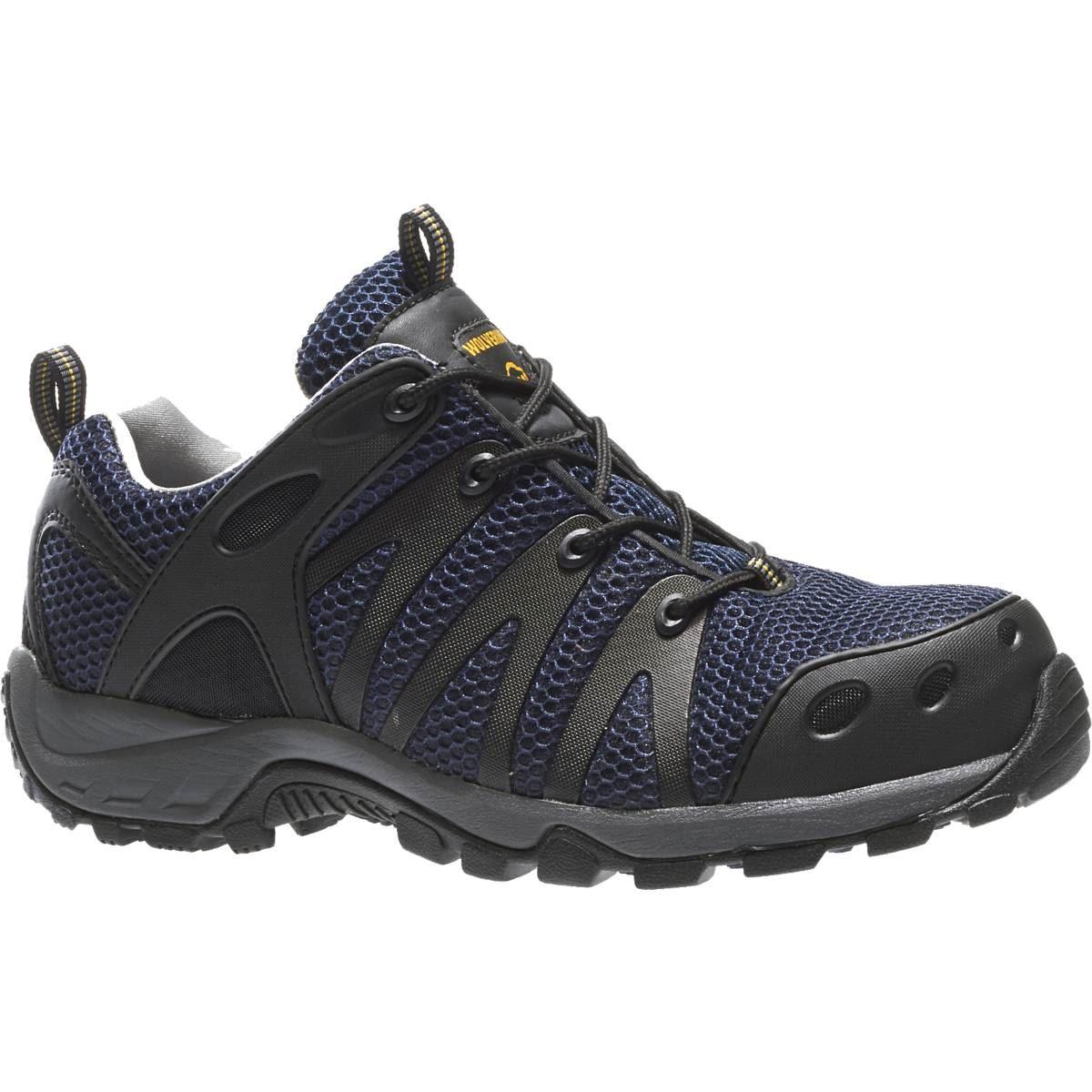 wolverine mens amherst low cut composite toe eh work shoe