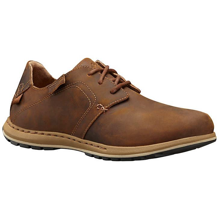 columbia mens davenport nubuck leather shoe casual