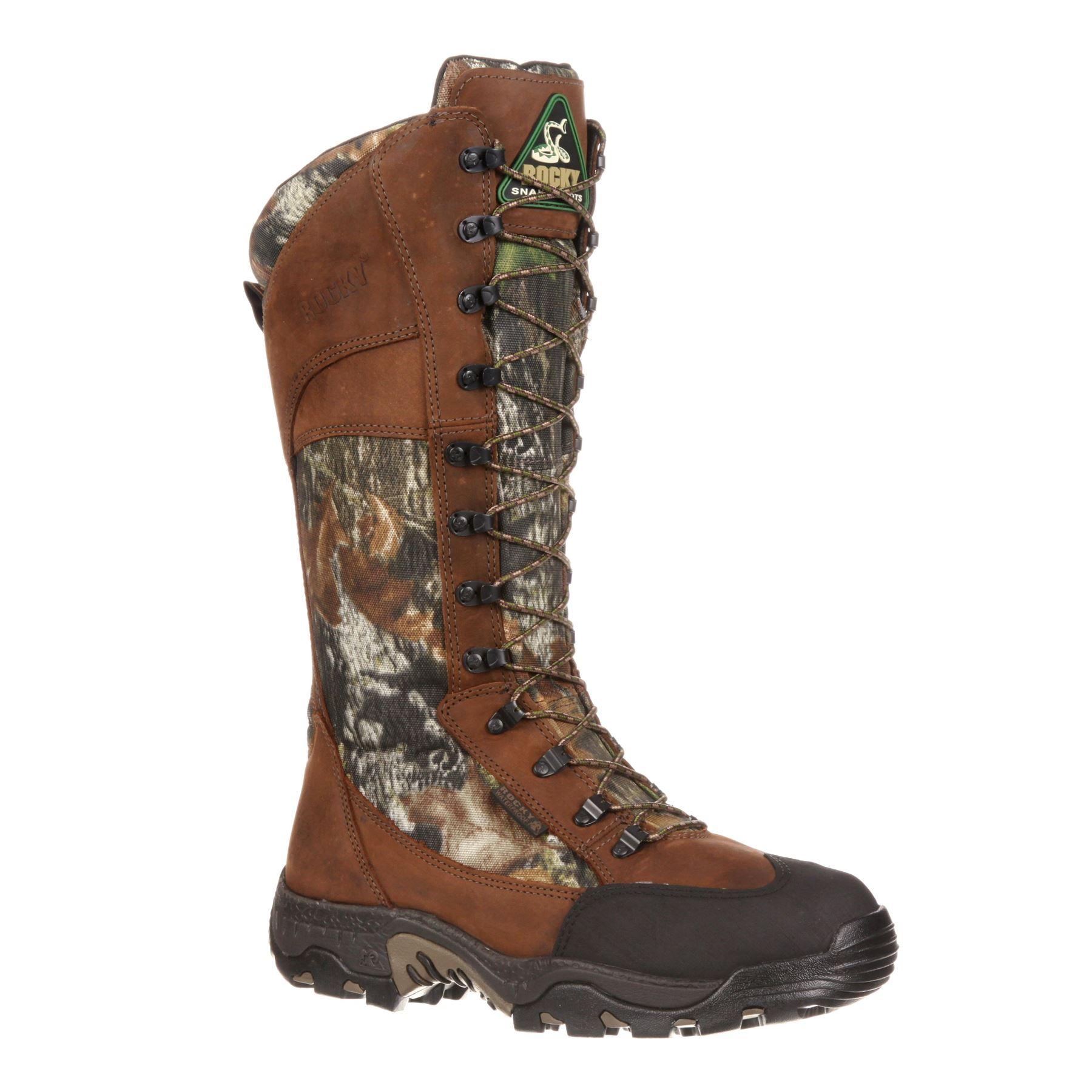 rocky mens rocky classic lynx waterproof side zip snake boots fq0007534 ebay. Black Bedroom Furniture Sets. Home Design Ideas