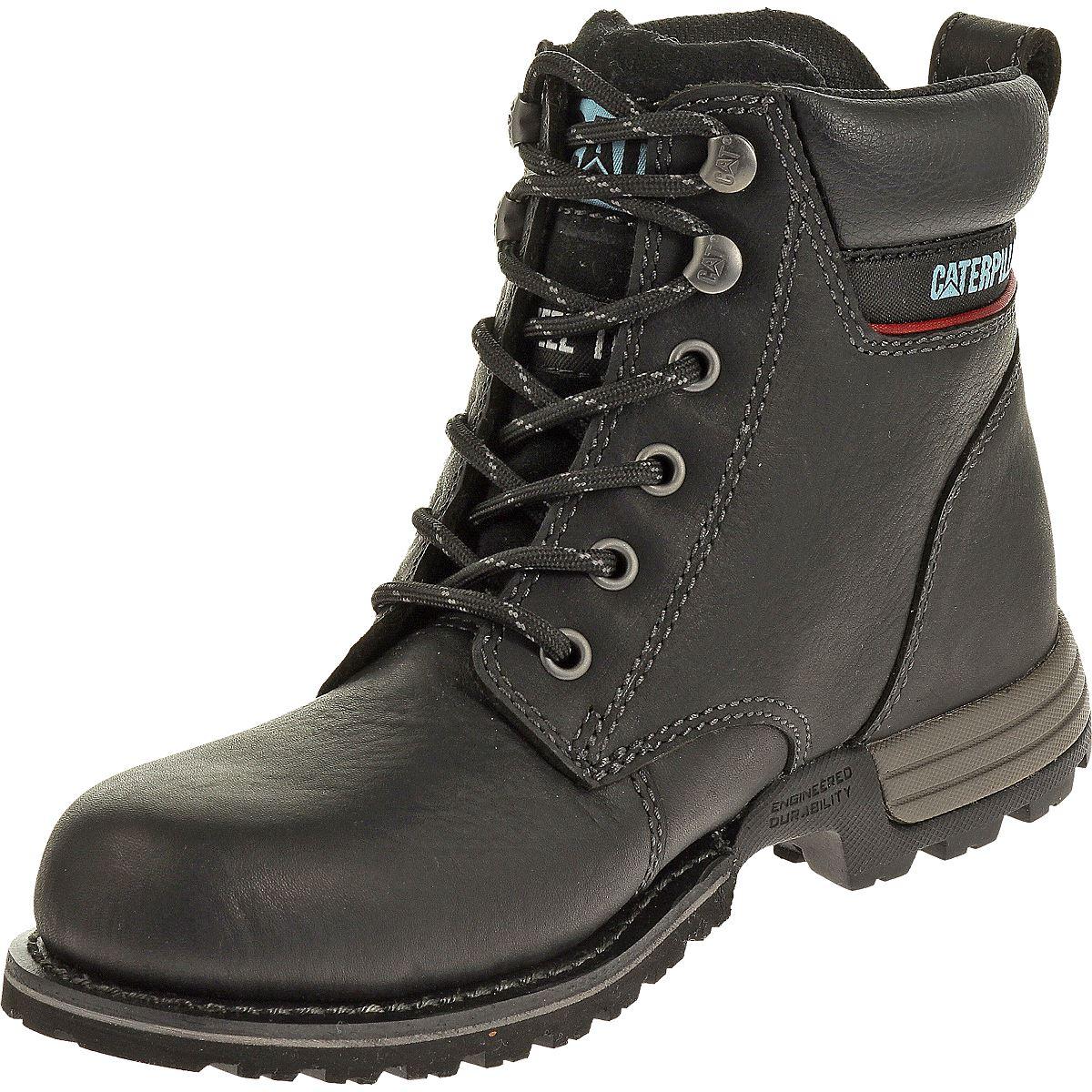 cat footwear womens freedom steel toe work boot ebay