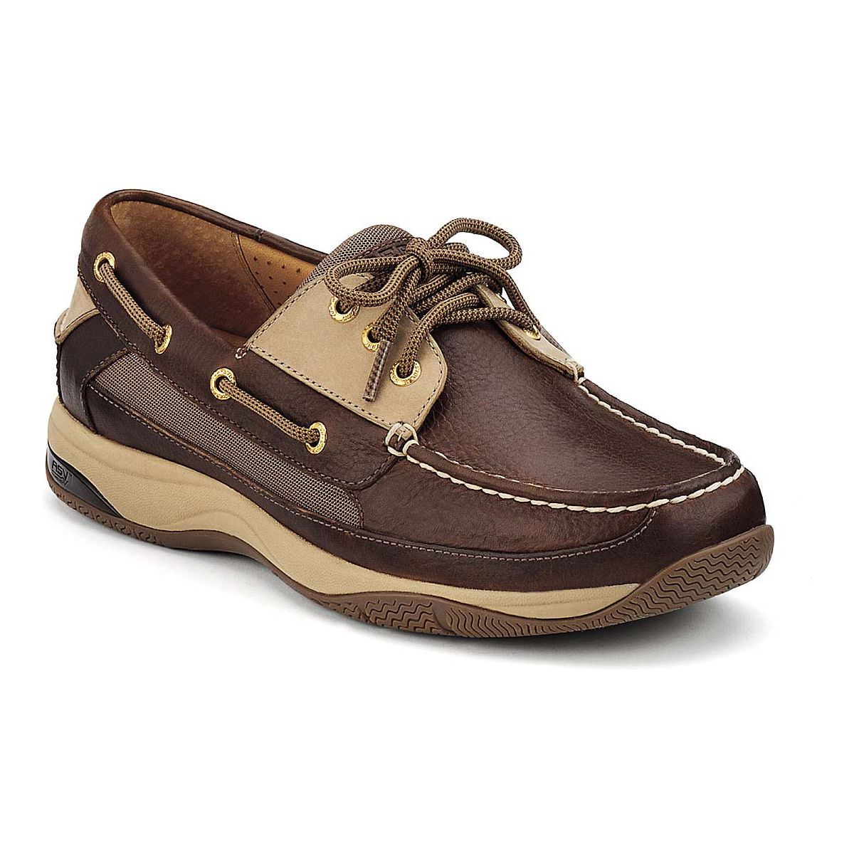 Sperry Men's Gold Cup ASV 2-Eye Boat Shoe Cognac Leather ... |Sperry Gold