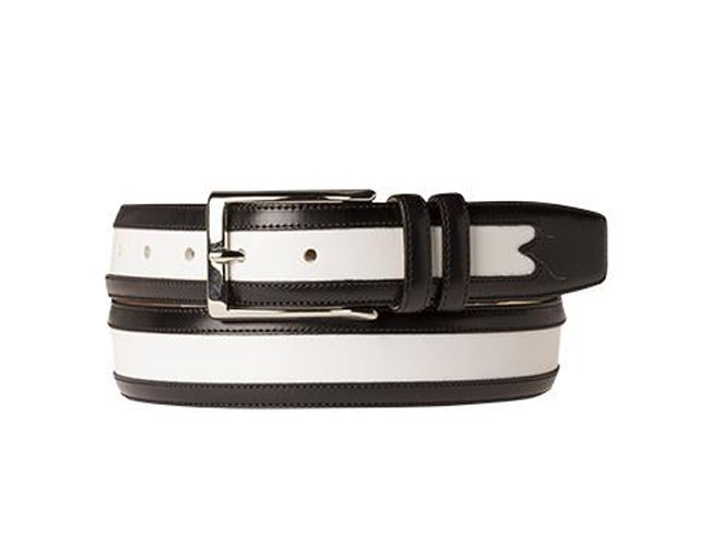 Men's belts If you think men's belts are just for keeping trousers up, think again. Brown or black, rugged or designer, a good leather belt makes a real statement and is any man's wardrobe essential.