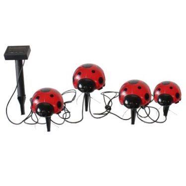 Solar Ladybugs - 4-Piece Set By Smart Solar