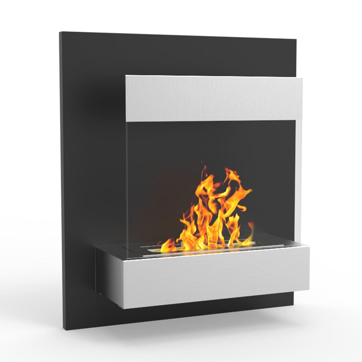 Regal Flame EW9001 Boston 24in Ventless Wall Mounted Bio Ethanol Fireplace