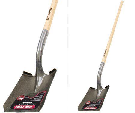 Tru-Pro Long Handle Square Point Shovel