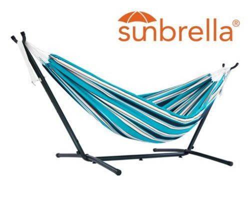 C9SUNT Vivere's Combo - Sunbrella Surfside Hammock with Stand- 9ft