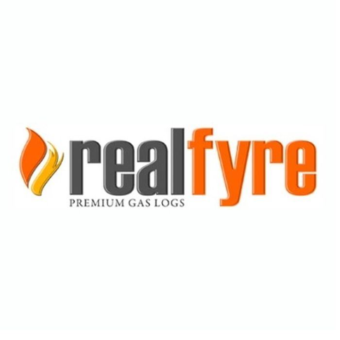 "Real Fyre 30"" Reflective Rear Panel for Burner For Fireplace"