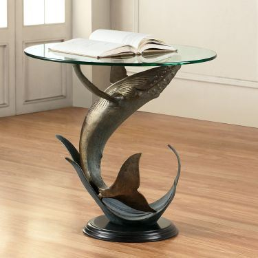 Whale End Table 34055 By Spi Home