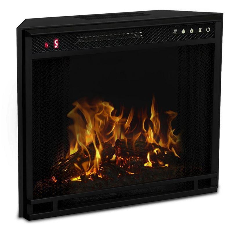 Regal Flame LW8033FLT 33in Flat Ventless Heater Electric Fireplace Insert