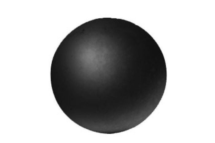 """Real Fyre 5"""" Fyre Sphere in Epic Black For Fireplace"""